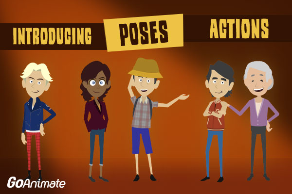 Business Friendly Poses Actions Goanimate Press Page
